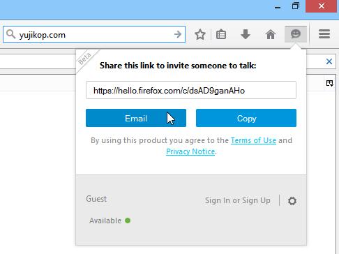 Firefox Hello Firefox 34