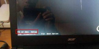 tombol masuk BIOS