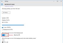 battery saver allow app