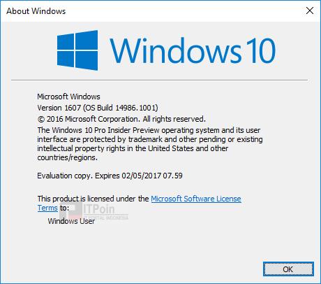 [KB3206309] Cumulative Update Windows 10 Version 1703