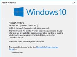 Fitur Baru Windows 10 Creators Update Build 15002
